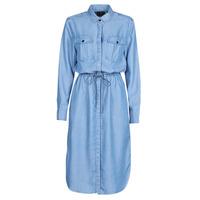 Abbigliamento Donna Abiti lunghi G-Star Raw Rovic maxi shirt dress ls Lt