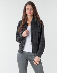 Abbigliamento Donna Giacche / Blazer G-Star Raw Rovic aviator bomber wmn Dk / Black / Dk / Black