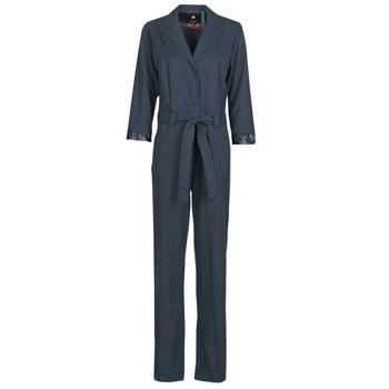 Abbigliamento Donna Tuta jumpsuit / Salopette G-Star Raw Workwear pj jumpsuit 34 slv wmn Mazarine / Blue