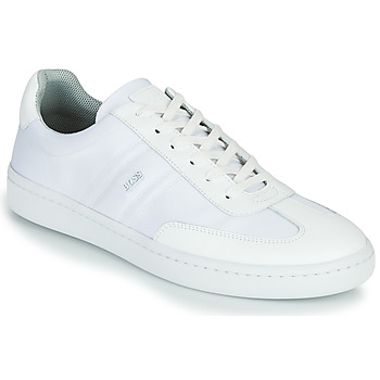 Scarpe Uomo Sneakers basse BOSS RIBEIRA TENN NYLT Bianco