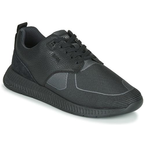 Scarpe Uomo Sneakers basse BOSS TITANIUM RUNN TBJQ Nero