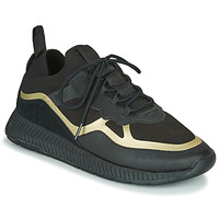 Scarpe Uomo Sneakers basse BOSS TITANIUM RUNN KNTH Nero / Oro