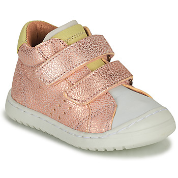 Scarpe Bambina Sneakers basse Bisgaard TATE Rosa / Oro