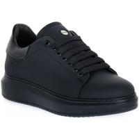 Scarpe Uomo Sneakers basse Exton GOMMA NERO Nero