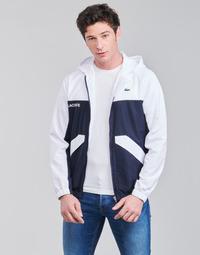 Abbigliamento Uomo Giubbotti Lacoste SHANNA Marine / Bianco
