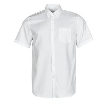 Abbigliamento Uomo Camicie maniche corte Lacoste FOLLA Bianco