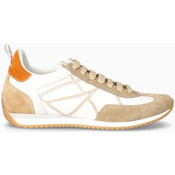 Scarpe Uomo Sneakers basse L4k3 Sneakers BEIGE