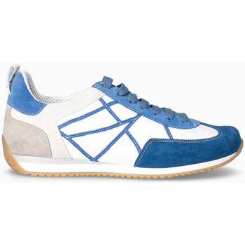 Scarpe Uomo Sneakers basse L4k3 Sneakers BLU-NAVY