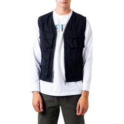 Abbigliamento Uomo Gilet / Cardigan Only & Sons  22017629 Nero