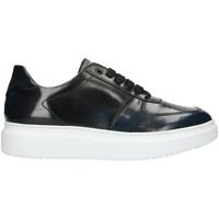 Scarpe Uomo Sneakers alte Exton 956 Blu