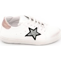 Scarpe Donna Sneakers basse In My Shoes 101lux Bianco-rosa