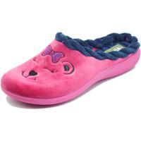 Scarpe Donna Pantofole Inblu EC000064 Fuxia Pantofole Donna tessuto fantasia orsetto Fuxia