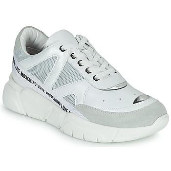Scarpe Donna Sneakers basse Love Moschino JA15323G1C Bianco