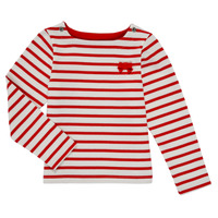 Abbigliamento Bambina T-shirts a maniche lunghe Petit Bateau MAHALIA Multicolore