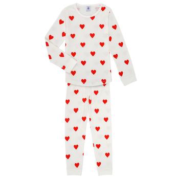 Abbigliamento Bambina Pigiami / camicie da notte Petit Bateau MISON Multicolore