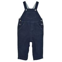 Abbigliamento Bambino Tuta jumpsuit / Salopette Petit Bateau MILIBERT Blu