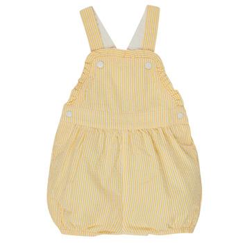 Abbigliamento Bambina Tuta jumpsuit / Salopette Petit Bateau MERINE Giallo