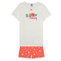 Abbigliamento Bambina Pigiami / camicie da notte Petit Bateau MARSHA Multicolore