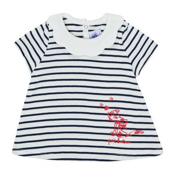 Abbigliamento Bambina T-shirt maniche corte Petit Bateau MELIANE Multicolore