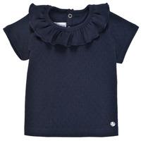 Abbigliamento Bambina T-shirt maniche corte Petit Bateau MELISSA Marine