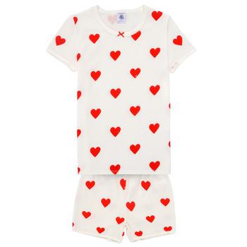 Abbigliamento Bambina Pigiami / camicie da notte Petit Bateau MICOURT Multicolore