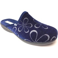 Scarpe Donna Pantofole Patrizia Azzi ATRMPN-22506 Blu