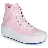 Scarpe Donna Sneakers alte Converse CHUCK TAYLOR ALL STAR MOVE ANODIZED METALS HI Rosa