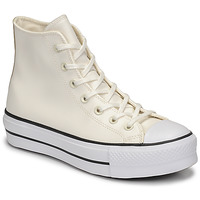 Scarpe Donna Sneakers alte Converse CHUCK TAYLOR ALL STAR LIFT ANODIZED METALS HI Bianco / Beige