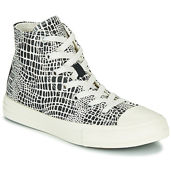 Scarpe Bambina Sneakers alte Converse CHUCK TAYLOR ALL STAR DIGITAL DAZE HI Nero / Bianco