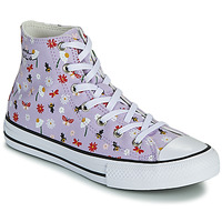 Scarpe Bambina Sneakers alte Converse CHUCK TAYLOR ALL STAR EXPLORE NATURE HI Parme / Margherita
