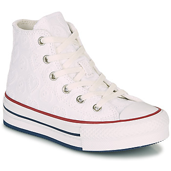 Scarpe Bambina Sneakers alte Converse CHUCK TAYLOR ALL STAR LIFT LOVE CEREMONY HI Bianco