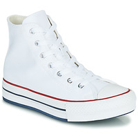 Scarpe Bambina Sneakers alte Converse CHUCK TAYLOR ALL STAR EVA LIFT CANVAS COLOR HI Bianco