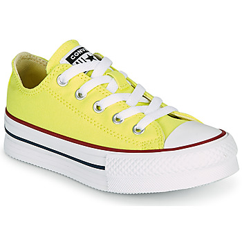 Scarpe Bambina Sneakers basse Converse CHUCK TAYLOR ALL STAR LIFT CANVAS COLOR OX Giallo
