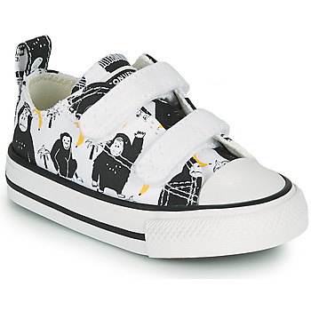Scarpe Unisex bambino Sneakers basse Converse CHUCK TAYLOR ALL STAR 2V GOING BANANAS OX Bianco / Multicolore