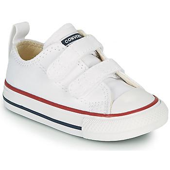 Scarpe Unisex bambino Sneakers basse Converse CHUCK TAYLOR ALL STAR 2V FOUNDATION OX Bianco