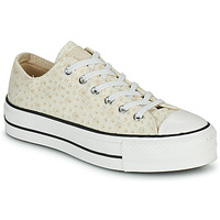 Scarpe Donna Sneakers basse Converse CHUCK TAYLOR ALL STAR LIFT CANVAS BRODERIE OX Bianco