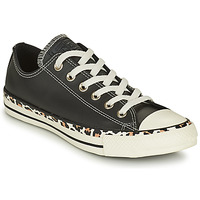 Scarpe Donna Sneakers basse Converse CHUCK TAYLOR ALL STAR ARCHIVE DETAILS OX Nero / Leopard
