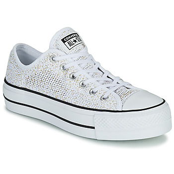 Scarpe Donna Sneakers basse Converse CHUCK TAYLOR ALL STAR LIFT BREATHABLE OX Bianco