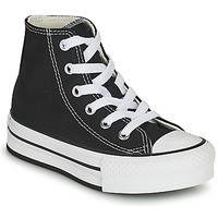 Scarpe Bambina Sneakers alte Converse CHUCK TAYLOR ALL STAR EVA LIFT CANVAS COLOR HI Nero