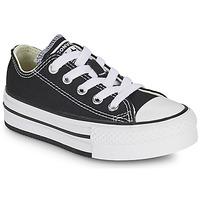 Scarpe Bambina Sneakers basse Converse CHUCK TAYLOR ALL STAR EVA PLATFORM FOUNDATION OX Nero