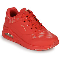 Scarpe Donna Sneakers basse Skechers UNO STAND ON AIR Rosso