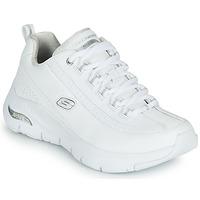 Scarpe Donna Sneakers basse Skechers ARCH FIT Bianco