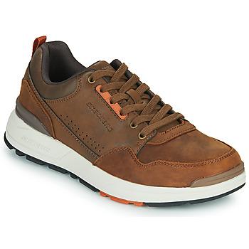 Scarpe Uomo Sneakers basse Skechers FAIRLINE Marrone
