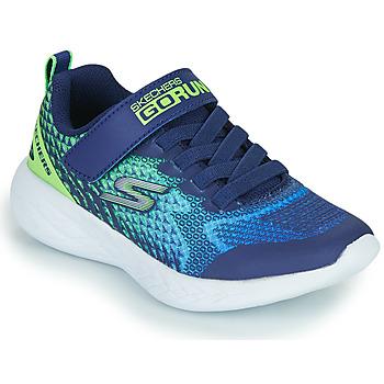 Scarpe Bambino Sneakers basse Skechers GO RUN 600 Blu / Verde