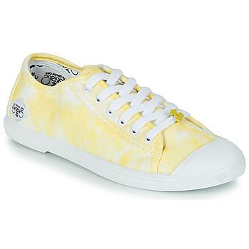 Scarpe Donna Sneakers basse Le Temps des Cerises BASIC 02 Giallo