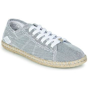 Scarpe Donna Sneakers basse Le Temps des Cerises BEACH Blu / Bianco