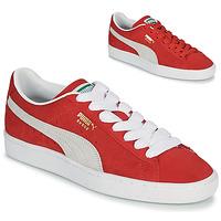Scarpe Sneakers basse Puma SUEDE Rosso