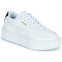 Scarpe Donna Sneakers basse Puma CALI OSLO Bianco / Nero