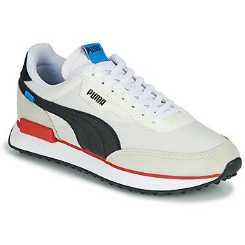 Scarpe Uomo Sneakers basse Puma FUTURE RIDER PLAY ON Bianco / Nero / Rosso