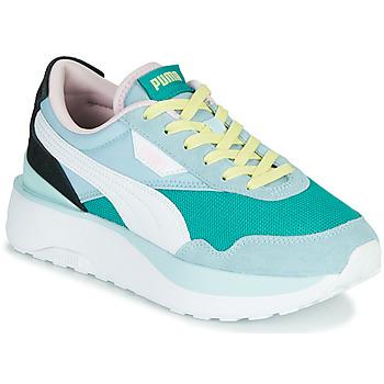Scarpe Donna Sneakers basse Puma CRUISE RIDER SILK Blu / Bianco / Nero